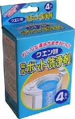 クエン酸電気ポット洗浄剤 4包入 [品番]07-6801
