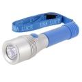 LEDライト ウナルーチェ ブルー 電池付 [品番]07-7810