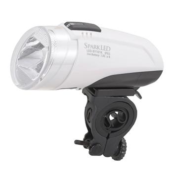 自転車用LEDライト ホワイト [品番]07-7889