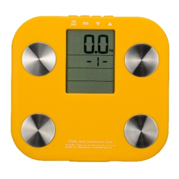 体重体組成計 オレンジ [品番]08-0033
