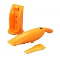 充電式ハンディクリーナー JINBEI オレンジ [品番]08-0044