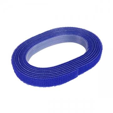 マジックタイ10ミリ 1.5m巻き 青 [品番]00-0432