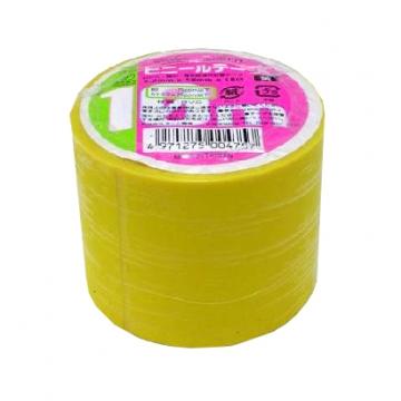 ビニールテープ 幅5cm×長さ10m 黄 [品番]00-0475