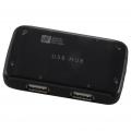 USBハブ 4ポート ブラック [品番]01-3238