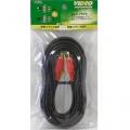 ビデオ接続コード ピンプラグ×3-ピンプラグ×3 3m [品番]01-7575