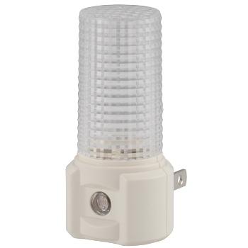 LEDナイトライト 明暗センサー 白色LED [品番]03-4187