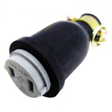 補修用 ゴムコネクターボディ 2P/15A [品番]04-0265