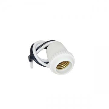 プラソケット E17用 白 [品番]04-2202