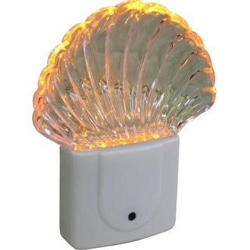 LEDナイトライト 明暗センサー シェル型 [品番]04-2688