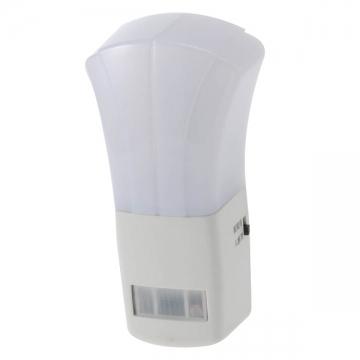 LEDナイトライト 人感・明暗センサー オレンジLED [品番]04-2938