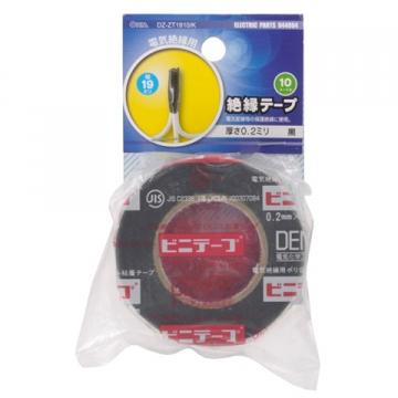 絶縁テープ 10m 黒 [品番]04-4004