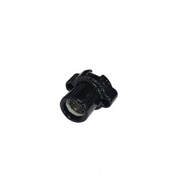 磁器レセプタクル E17用 黒 [品番]04-4149