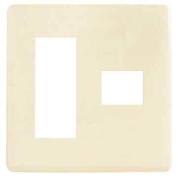 埋込プレート 3+1口用 [品番]04-7525