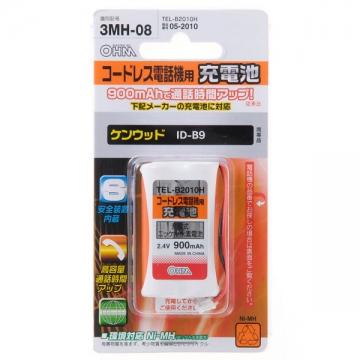 コードレス電話機用充電池 ケンウッド ID-B9 [品番]05-2010