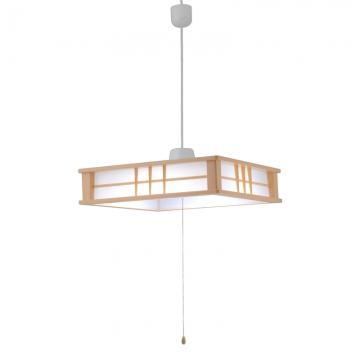 LED和風ペンダントライト 調光 6畳用 [品番]06-0193
