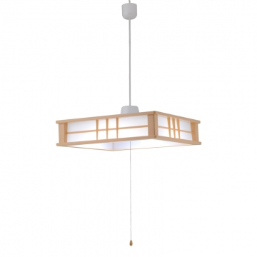 LED和風ペンダントライト 調光 8畳用 [品番]06-0194
