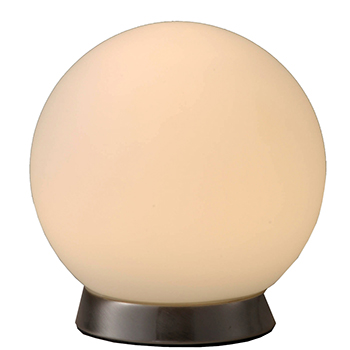 LEDボール形テーブルスタンド 電球色 [品番]06-1279