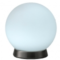LEDボール型テーブルスタンド 昼白色 [品番]06-1280