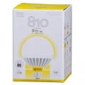 LED電球 ボール形 60形相当 E26 電球色 [品番]06-1325