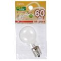 ミニクリプトン球 60形相当 PS-35 E17 ホワイト [品番]06-2594