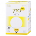 LED電球 ボール形 60形相当 E26 電球色 [品番]06-3047