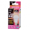 LED電球 小形 40形相当 E17 電球色 [品番]06-3089