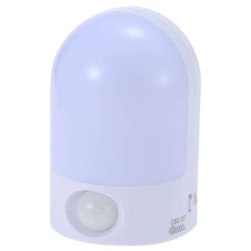 LEDセンサーナイトライト 人感 白色LED [品番]07-1040