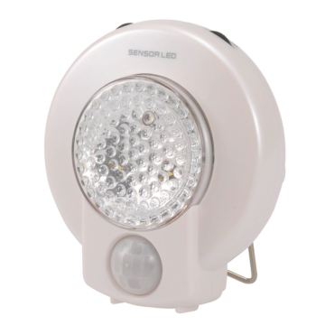 LEDセンサーライト 人感・明暗 白色LED [品番]07-2042