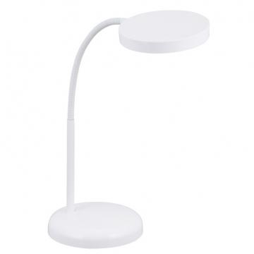 LEDデスクライト LTL-T6 ホワイト [品番]07-6436
