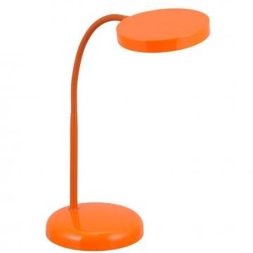 LEDデスクライト LTL-T6 オレンジ [品番]07-6439