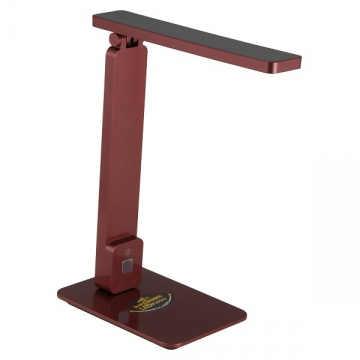 LED調光式デスクライト ODS-L12 メタリックワインレッド [品番]07-6447