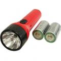 LED懐中ライト 単1電池 2本付 [品番]07-7401