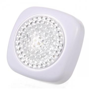 LEDプッシュライト ミニ 電池付 [品番]07-7666