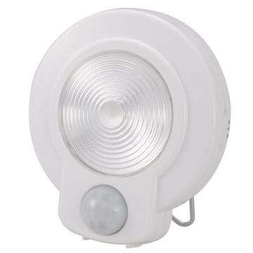 LEDセンサーライト 人感・明暗 ホワイト 白色LED [品番]07-9754