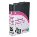 DVD&CDケース 4枚収納 5パック [品番]01-3235