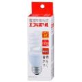 電球形蛍光灯 スパイラル形 E26 60形相当 電球色 エコなボール [品番]04-8192