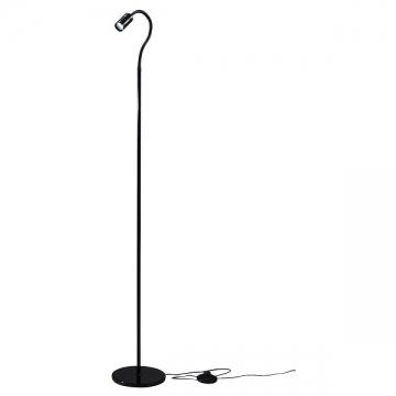 LEDフロアスタンド ブラック [品番]06-1499