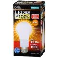 LED電球 E26 100形相当 電球色 [品番]06-3085