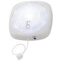 LEDプッシュライト 2WAYスイッチ 白色LED [品番]07-8045