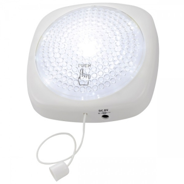LEDプッシュライト 白色LED [品番]07-8045