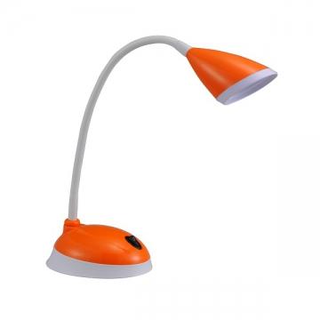 LEDデスクライト オレンジ [品番]07-8197
