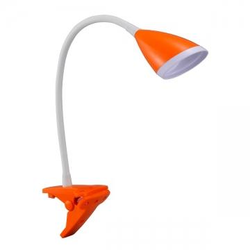 LEDクリップライト オレンジ [品番]07-8200