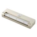 LEDセンサーライト 人感・明暗 シャンパンゴールド 白色LED [品番]07-9759
