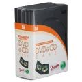 DVD&CDケース 2枚収納タイプ 5パック [品番]01-2048