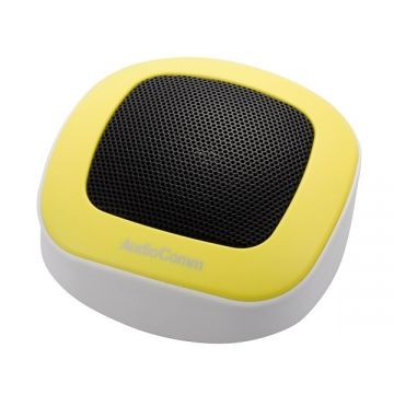 Bluetooth パームトップスピーカー イエロー [品番]03-2276