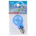 昼光ミニクリプトン球 60形相当 PS-35 E17 クリア [品番]04-6623