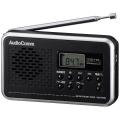 AudioComm AM/FM デジタル表示ラジオ [品番]07-7709