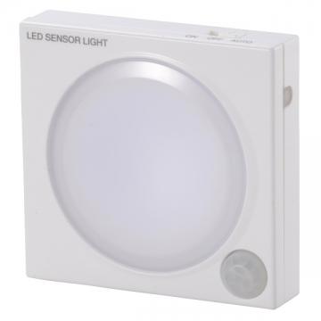 LEDセンサーライト 人感・明暗 [品番]07-8111