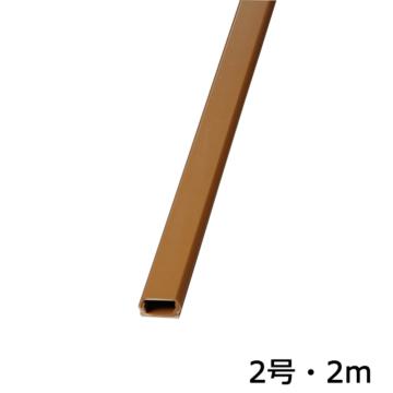モール 2号 茶 2m×1本 [品番]00-9829