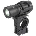 USB充電式 防水LEDズーム サイクルライト [品番]07-8393